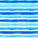 与有些条纹的水彩背景 免版税库存照片