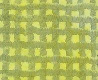 与有趣的波浪油漆纹理的淡黄色背景 免版税库存图片