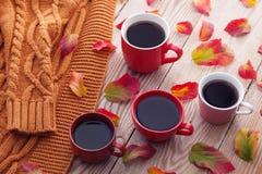 与朋友的咖啡 免版税库存照片