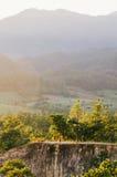 与朋友的Pai峡谷 免版税图库摄影