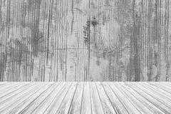 与木大阳台的木纹理表面 免版税库存图片