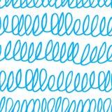 与杂文纹理的无缝的样式 皇族释放例证