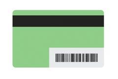空白的礼物卡片 库存照片