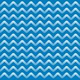 与条纹的蓝色抽象样式 库存照片