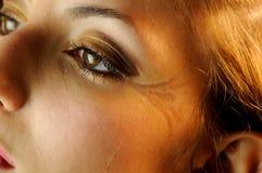与构成的眼睛 免版税图库摄影