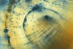 与果冻球、泡影和光的抽象水下的比赛 图库摄影