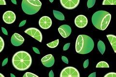 与柑橘水果的图象的样式 向量例证