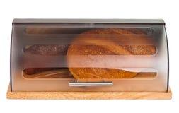 与查出的产谷物区小圆面包 库存图片
