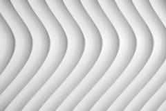 与树荫和阴影的白色曲线纹理 库存照片