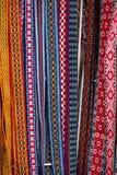 与样式的民族志学袜带 库存图片