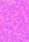 与桃红色和淡紫色三角的背景 免版税库存照片