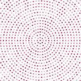 与桃红色心脏的抽象背景 r 向量例证
