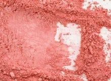 与桃红色粉末的抽象图象背景的 库存图片