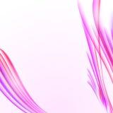 与桃红色镶边纹理,空白的拷贝的抽象白色背景 免版税库存图片