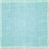 与框架的蓝色织品纹理 库存照片