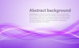 与梯度和混合的浅紫色的背景 企业笔样式白人妇女 库存例证