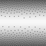与梯度的抽象任意被安置的小点 免版税库存图片