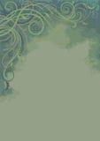 与植物的背景-垂直 免版税库存图片