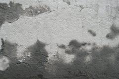 与模子的老肮脏的难看的东西水泥混凝土墙纹理 免版税库存照片