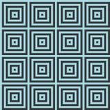 与正方形和错觉的无缝的背景 免版税库存图片