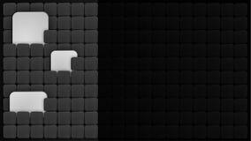 与正方形的抽象传染媒介背景 库存图片