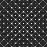 与正方形的抽象简单的样式 向量例证