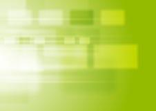 与正方形的绿色充满活力的技术背景 库存例证
