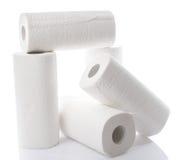 与毛巾纸卷的构成 库存图片