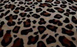 与毛皮的美好的背景与豹子着色 免版税库存图片