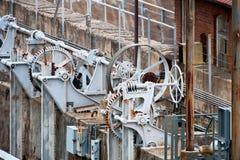 与氢结合的机械 免版税库存照片