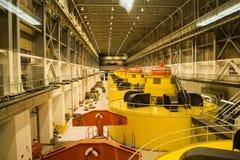 与氢结合的涡轮葛伦峡谷水坝 库存照片