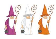 与水壶的巫师mag 库存照片