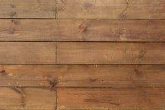 与水平的盘区的织地不很细木墙壁背景设计 免版税库存照片