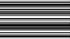 与水平的空白线路的抽象数字背景 库存例证