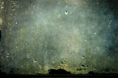 与水蒸气结露的肮脏的玻璃 库存图片