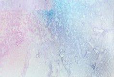 与污点的柔和的水彩结构在纸 库存图片