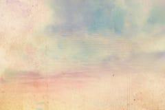 与污点的梦想的天空背景 免版税图库摄影