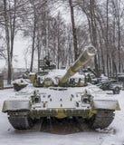 与汽轮机引擎的T-80B-The世界的第一辆连续坦克, 库存图片