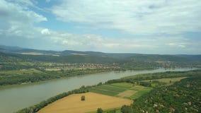 与河多瑙河的风景 股票视频