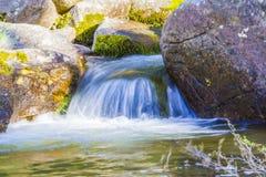 与河的风景 库存图片