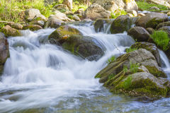 与河的风景 图库摄影
