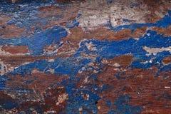 与油漆和油漆的木纹理 免版税库存图片