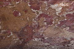 与油漆和油漆的木纹理 库存照片
