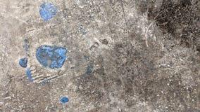 与油漆污点的老混凝土 库存照片