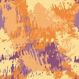 与油漆的抽象无缝的样式飞溅 向量例证