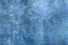 与油漆的抽象蓝色背景 免版税库存照片