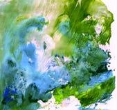 与油漆的明亮的美好的被绘的纹理 免版税图库摄影
