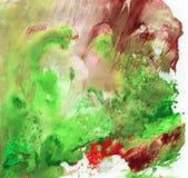 与油漆的明亮的美好的被绘的纹理 库存图片