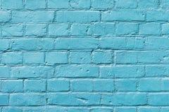与油漆的神圣颜色的被绘的砖表面特写镜头 墙壁五颜六色的难看的东西纹理  抽象现代 免版税库存图片