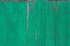 与油漆的老被佩带的木表面 生锈的木纹理 背景 木头 墙壁 免版税图库摄影
